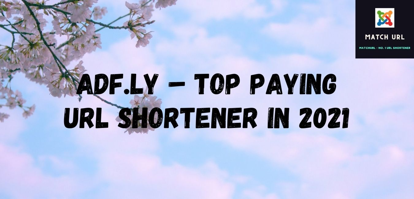 Adf.ly – Top Paying URL Shortener in 2021: