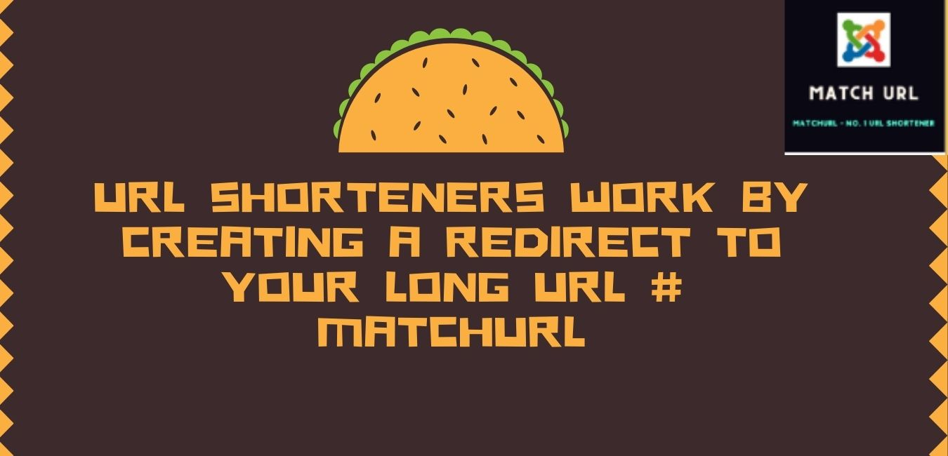 URL shorteners work by creating a redirect to your long URL # matchurl