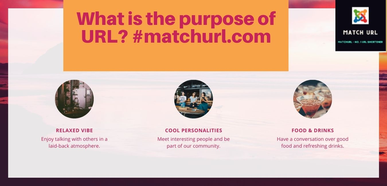 What is the purpose of URL? #matchurl.com